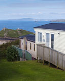 Holiday caravan park Stock Photos