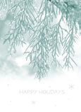 Holiday card Royalty Free Stock Images