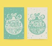 Holiday Card Design Stock Photos