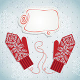Holiday card design Royalty Free Stock Photos