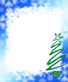 Holiday Card Frame Background Stock Photography