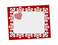Holiday card. St. Valentines day Stock Images