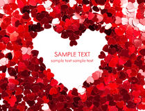 Holiday Card. Valentines day royalty free stock photo