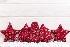 Holiday card on white background Royalty Free Stock Photo