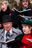 Holiday carolers Royalty Free Stock Image