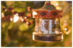 Holiday Carousel Royalty Free Stock Photo