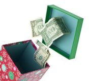 Holiday Cash Royalty Free Stock Images