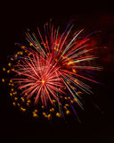 Holiday Celebration Fireworks Display Stock Photography