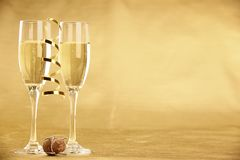 Holiday champagne Royalty Free Stock Photo