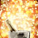 Holiday champagne Stock Image