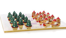 Holiday Checkers Royalty Free Stock Images