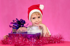 Holiday of Christmas. Royalty Free Stock Photo