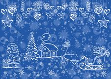 Holiday Christmas background Stock Photo