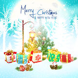 Holiday Christmas background Royalty Free Stock Photography