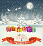 Holiday Christmas background Royalty Free Stock Photos