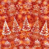 Holiday Christmas background Stock Image