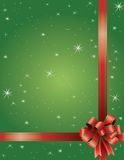 Holiday Christmas Bow Stock Images