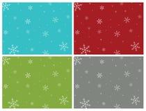 Holiday/Christmas Presentation Backgrounds Stock Images