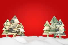 Holiday Christmas savings or sale advertisement. Royalty Free Stock Image
