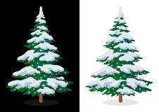 Holiday Christmas Tree Royalty Free Stock Photos