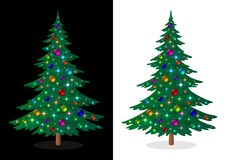 Holiday Christmas Tree Royalty Free Stock Photo