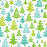 Holiday Christmas trees seamless pattern Royalty Free Stock Images