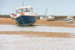 Holiday coastal views of north norfolk England Stock Photography