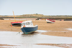 Holiday coastal views of north norfolk England Royalty Free Stock Image