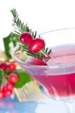 Holiday cocktail Royalty Free Stock Photography