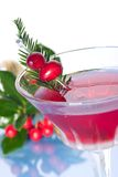 Holiday cocktail Stock Photography