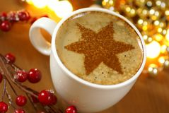 Holiday coffee Royalty Free Stock Photo