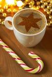 Holiday coffee Stock Image