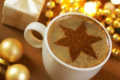 Holiday coffee Stock Images