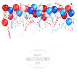 Holiday color balloon Royalty Free Stock Photo