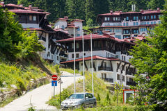 Holiday complex Pamporovo in Bulgaria Royalty Free Stock Photo