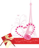 Holiday composition for Valentines day. Banner Royalty Free Stock Photo
