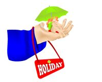 Holiday concept, cdr vector Royalty Free Stock Images