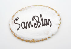 Holiday Cookie San Blas. Sweet typical day on February 3 in Spai Stock Photo