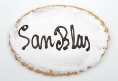 Holiday Cookie San Blas. Sweet typical day on February 3 in Spai Stock Photos