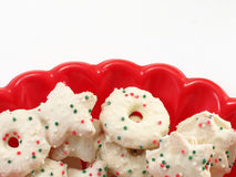 Holiday Cookies Royalty Free Stock Photo
