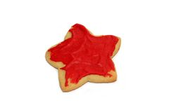 Holiday cookies. Isolated on white background Royalty Free Stock Photos