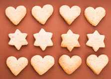 Holiday cookies Royalty Free Stock Image