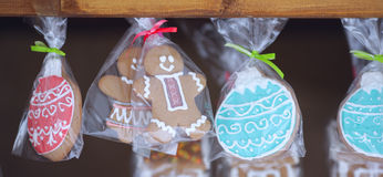 Holiday cookies and cakes Royalty Free Stock Photo