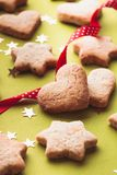 Holiday cookies Stock Photography