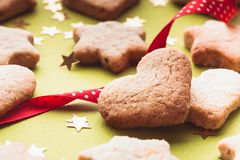 Holiday cookies Stock Photos
