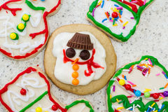 Holiday cookies Royalty Free Stock Photos
