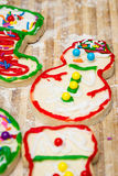 Holiday cookies Stock Images