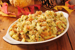 Holiday cornbread stuffing Stock Image