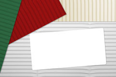 Holiday Corrugated Cardboard Stock Images