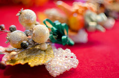 Holiday Corsages Royalty Free Stock Photography